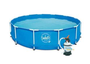 Bazén s kovovým rámom a filtráciou 3,66 m