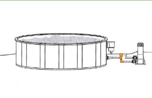 Efektívny elektrický ohrev pre nadzemné bazény
