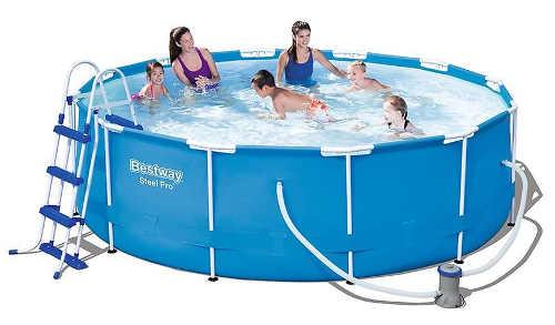 Lacný nadzemný bazén Bestway vrátane filtrácie
