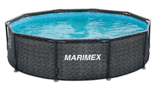 Levný ratanový bazén na zahradu Marimex Florida 3,05×0,76 m