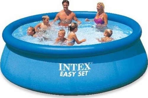 Moderný praktický kruhový bazén