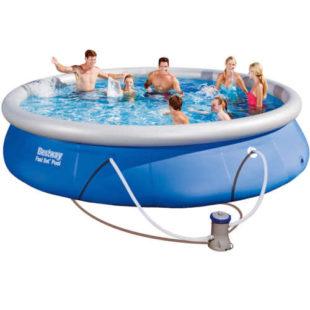 Nadzemný bazén s filtračnou súpravou