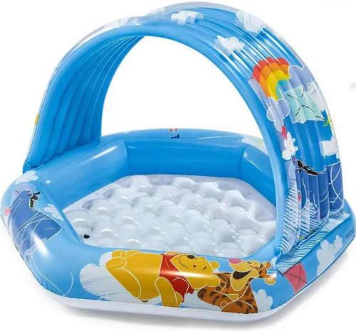 Nafukovací bazén so strieškou pre najmenších