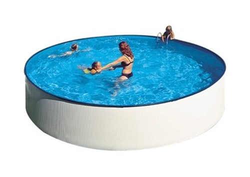 Praktický rodinný nadzemný bazén GRE Splash 2,4×0,9 m