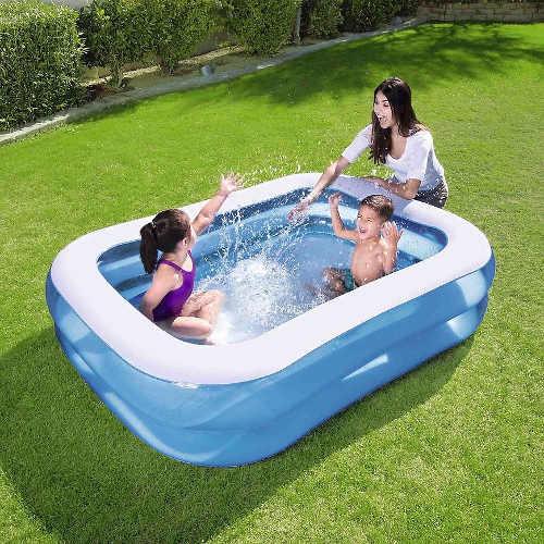 Detský obdĺžnikový nafukovací bazén