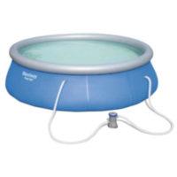 Kruhový nafukovací bazén s kartušovou filtráciou