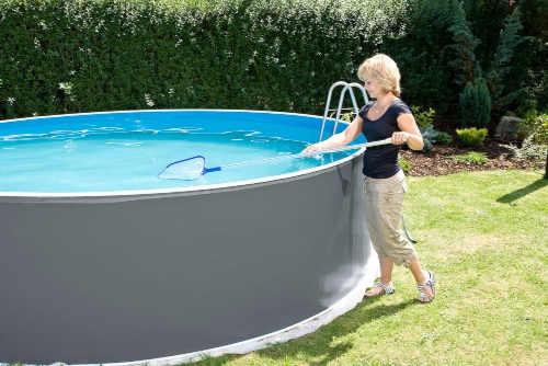 Kvalitný nadzemný bazén okrúhly