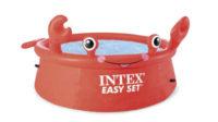 Nadzemný bazén INTEX v tvare kraba