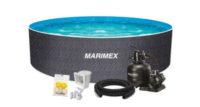 Ratanový bazén Orlando Premium s filtráciou