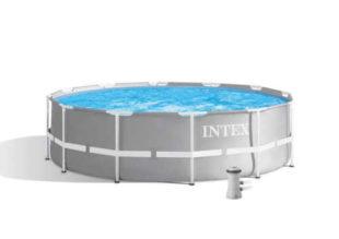 Moderný kruhový bazén Intex s kartušovou filtráciou